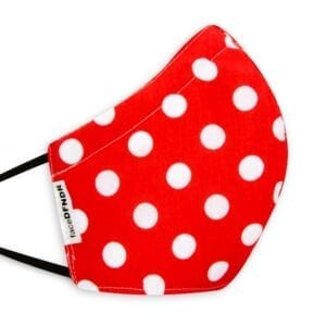 Red White Large Polka