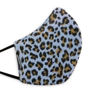 Animal Print on Pool Blue